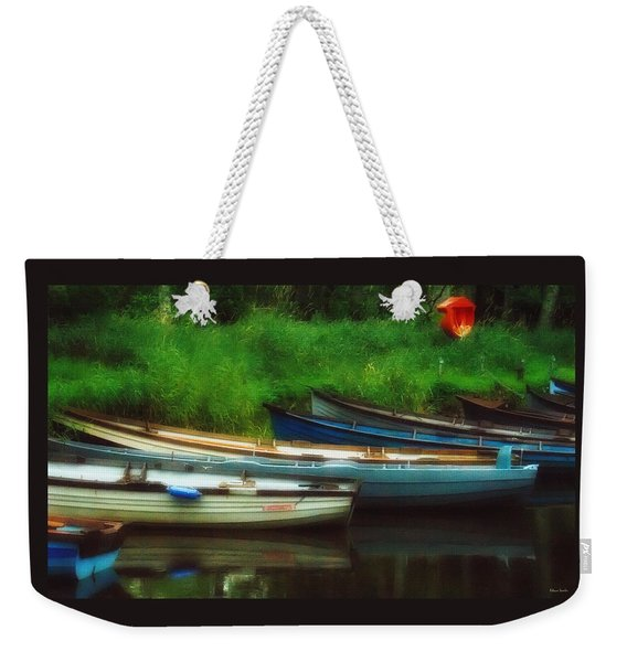 Boats At Rest Weekender Tote Bag