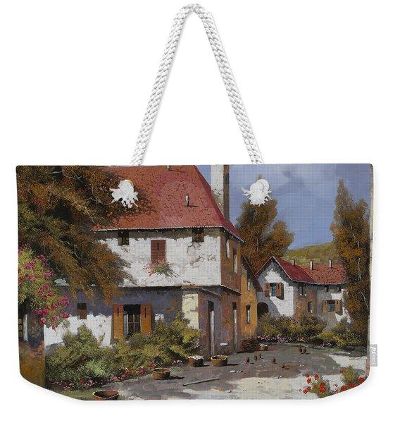 Borgogna Weekender Tote Bag
