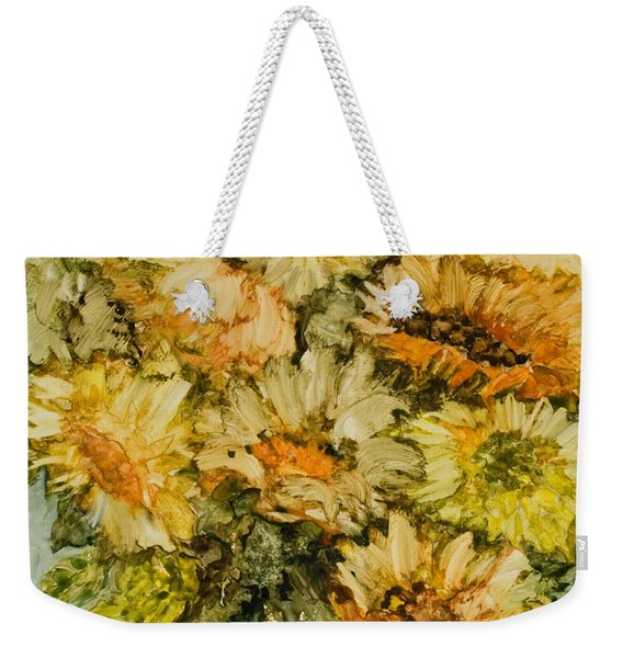 Bouquet Of Sunflowers Weekender Tote Bag