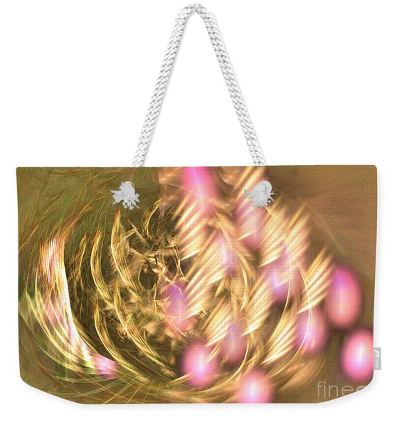 Bouquet Of The Faun -abstract Art Weekender Tote Bag