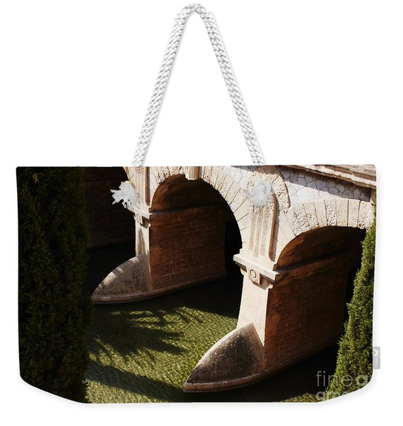 Bows In River Weekender Tote Bag