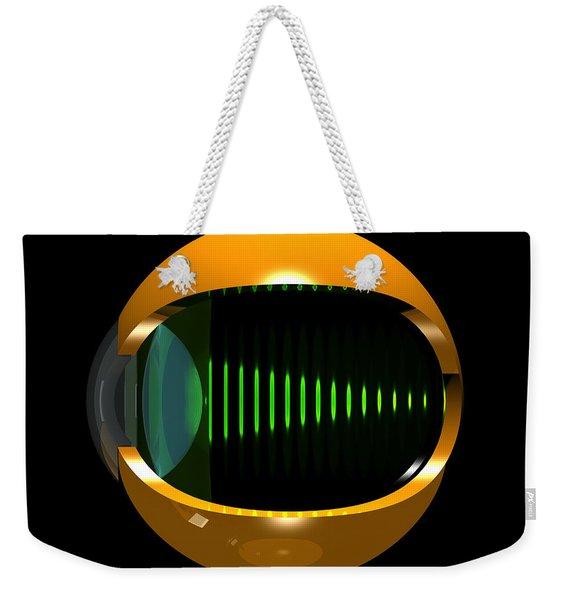 Brass Eye Infinity Weekender Tote Bag