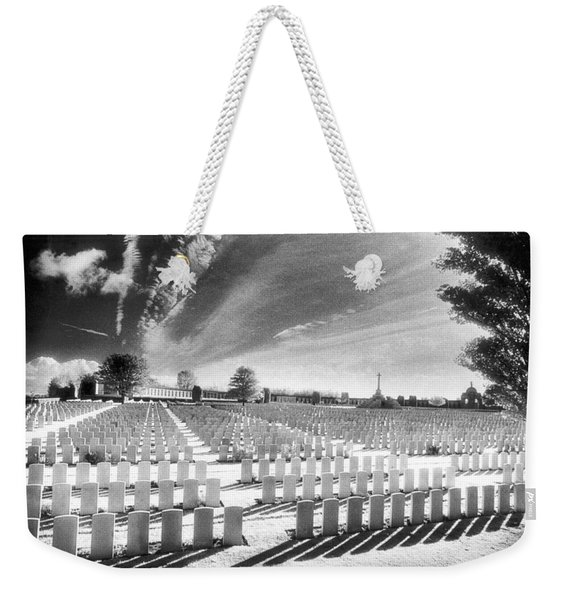 British Cemetery Weekender Tote Bag