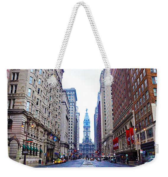 Broad Street Avenue Of The Arts Weekender Tote Bag