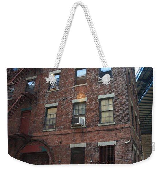 Brooklyn New York - 126 Front Street. Weekender Tote Bag