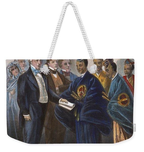 Buchanan: Ambassadors Weekender Tote Bag