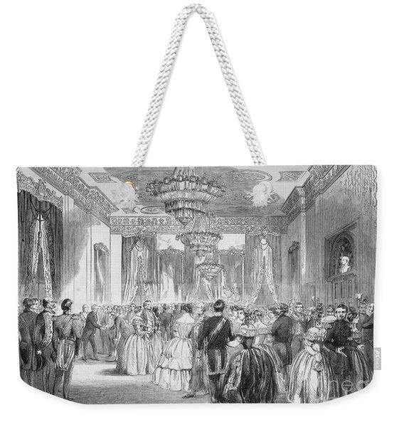 Buchanan: Reception, 1858 Weekender Tote Bag