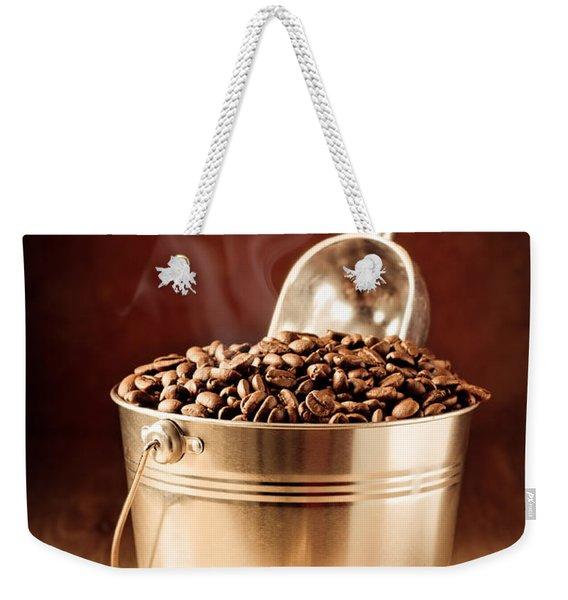 Bucket Of Coffee Beans Weekender Tote Bag