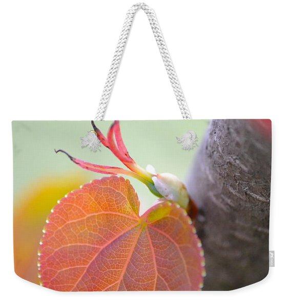 Budding Heart Weekender Tote Bag