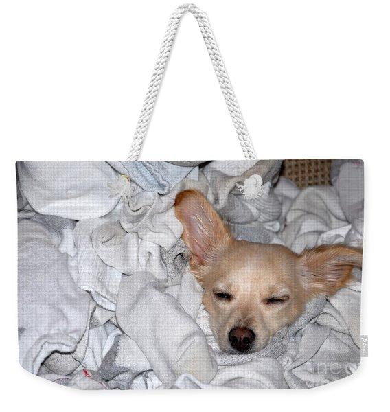 Buddy Socks Weekender Tote Bag