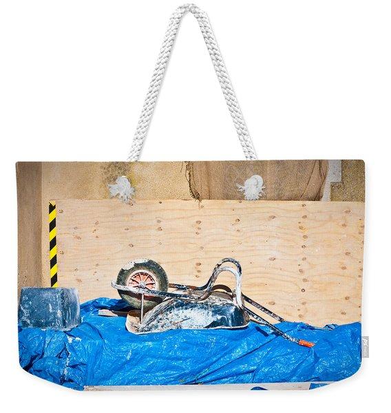 Building Site Weekender Tote Bag