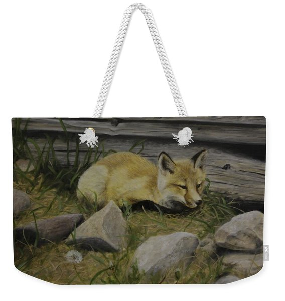 By The Den Weekender Tote Bag