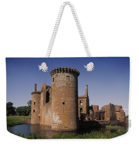 Caerlaverock Castle, Dumfries, Scotland Weekender Tote Bag