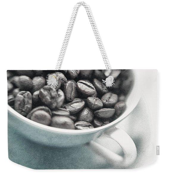 Caffeine Weekender Tote Bag
