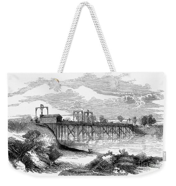 California: American River Weekender Tote Bag