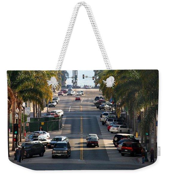 California Street Weekender Tote Bag