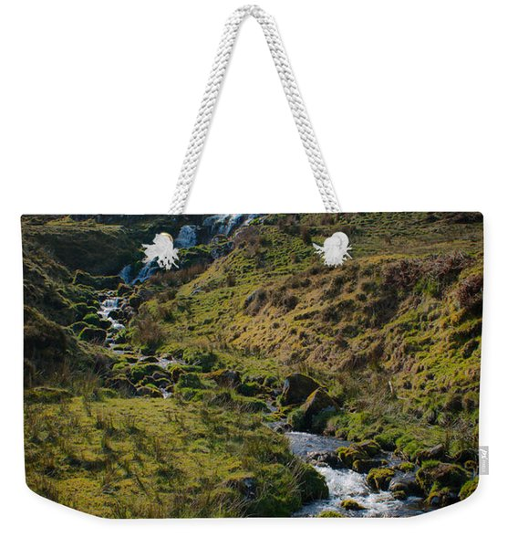 Calmness At The Falls Weekender Tote Bag
