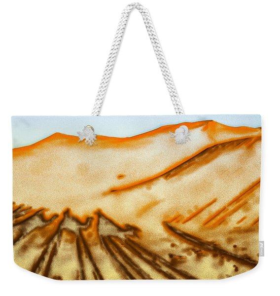 Camel Shadows Weekender Tote Bag