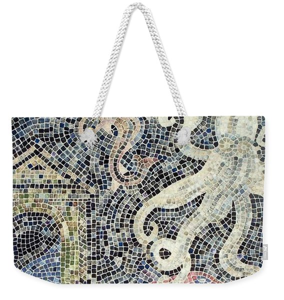 Weekender Tote Bag featuring the painting Can You See Me Know by Cynthia Amaral
