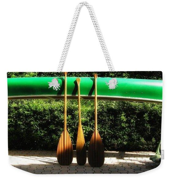 Canoe To Nowhere Weekender Tote Bag