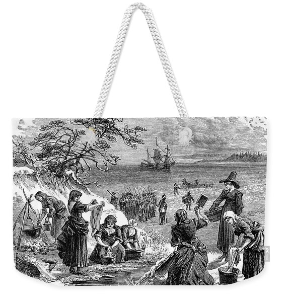 Cape Cod: Pilgrims Weekender Tote Bag