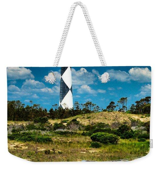 Cape Lookout Light Weekender Tote Bag