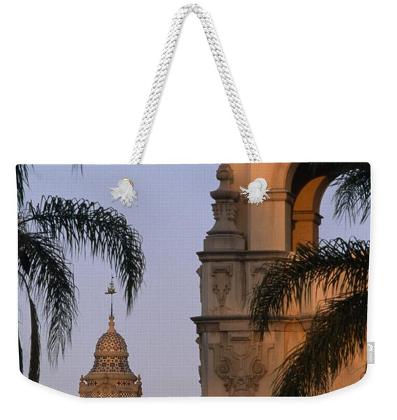 Casa Del Prado Theatre In Balboa Park Weekender Tote Bag