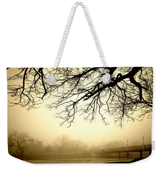 Castle In The Fog Weekender Tote Bag