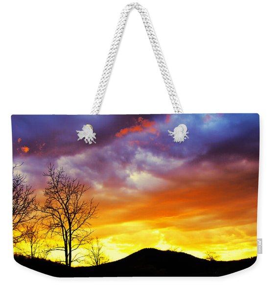 Celebration Of Night Weekender Tote Bag
