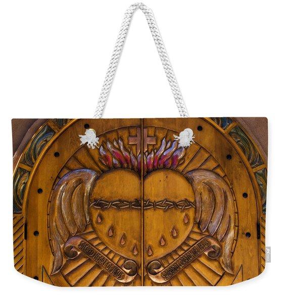 Chapel Doors Weekender Tote Bag