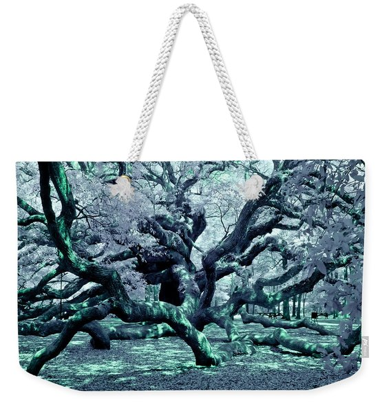 Charleston's Angel Oak Weekender Tote Bag