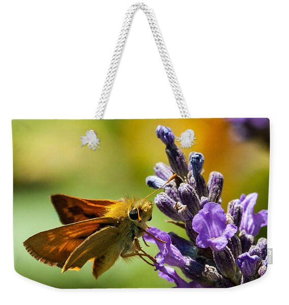 Checking For Nectar Weekender Tote Bag