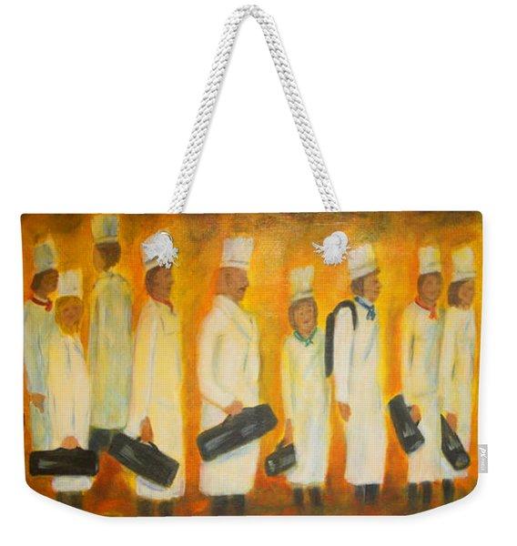 Chef School Weekender Tote Bag