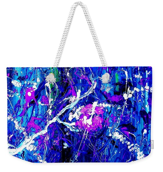 Cherry Blossom Explosion Weekender Tote Bag