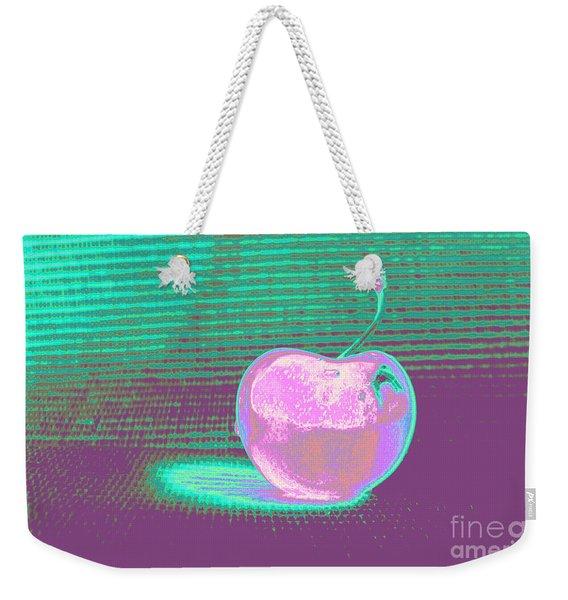 Cherry Pastel Weekender Tote Bag