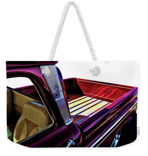 Chevy Custom Truckbed Weekender Tote Bag