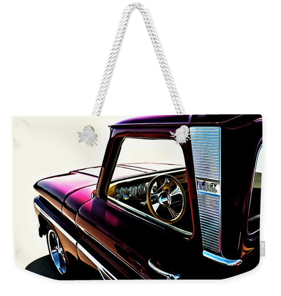 Chevy Pickup Weekender Tote Bag