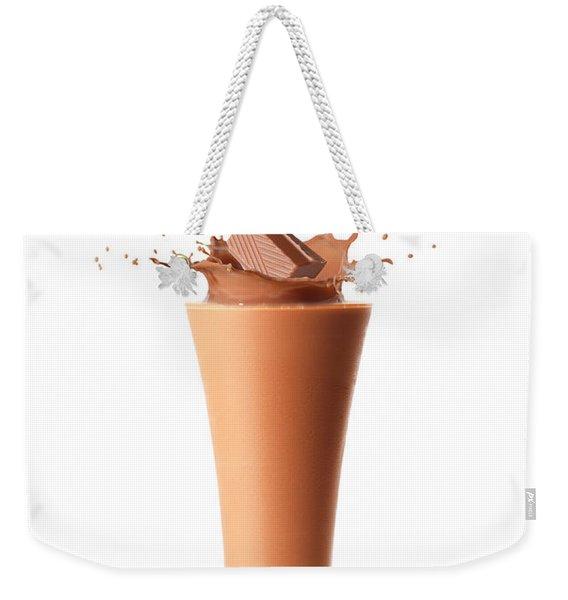 Chocolate Milkshake Smoothie Weekender Tote Bag