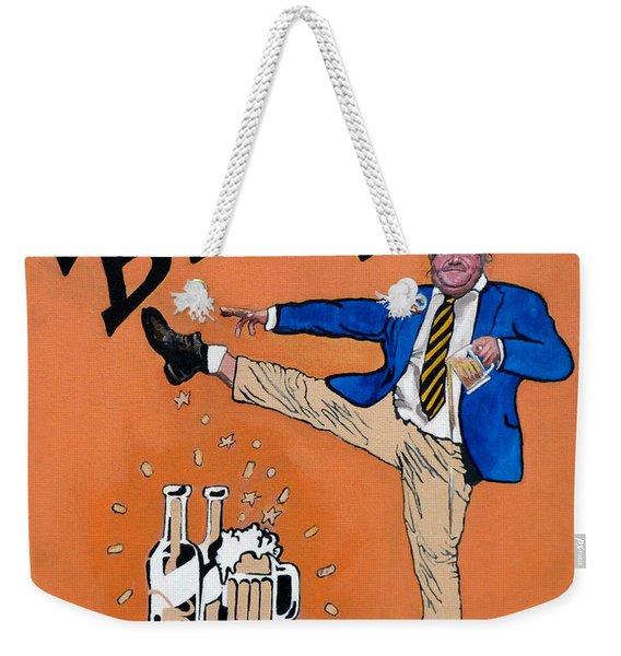 Chris Farley Weekender Tote Bag