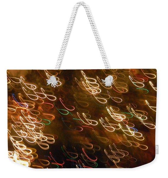 Christmas Card - The Manger Weekender Tote Bag