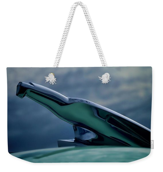 Chrome Eagle Weekender Tote Bag