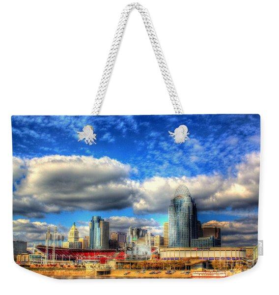 Cincinnati Skyline 2012 - 2 Weekender Tote Bag