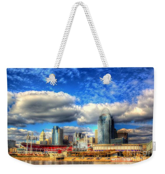 Cincinnati Skyline 2012 - 2 Weekender Tote Bag