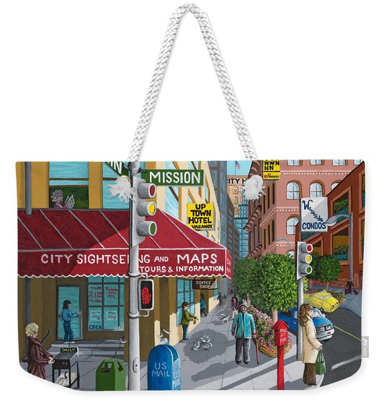 City Corner Weekender Tote Bag