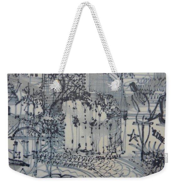 City Doodle Weekender Tote Bag