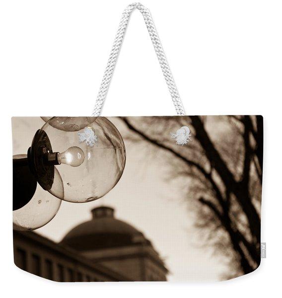 City Globes Weekender Tote Bag