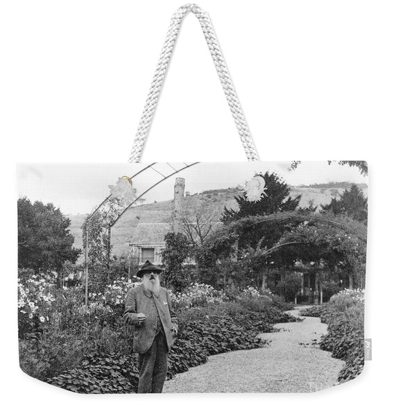 Claude Monet, French Impressionist Weekender Tote Bag