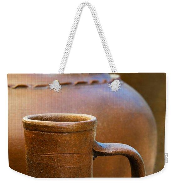Clay Pottery Weekender Tote Bag