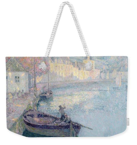 Clear Morning - Quimperle Weekender Tote Bag