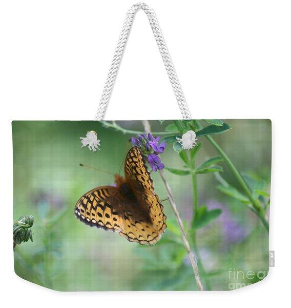 Close-up Butterfly Weekender Tote Bag